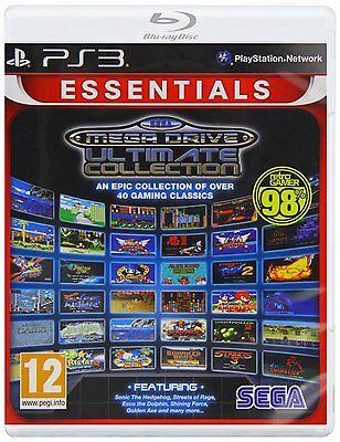 PS3 Spiel SEGA Mega Drive Ultimate Collection Neu
