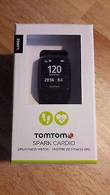TomTom Spark Cardio GPS Fitness Uhr - LARGE (1RF0.002.00)