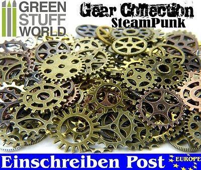 Steampunk-Sets & Zahnräder für Bastler - 85 gr - Schmuck Gothic Perlen