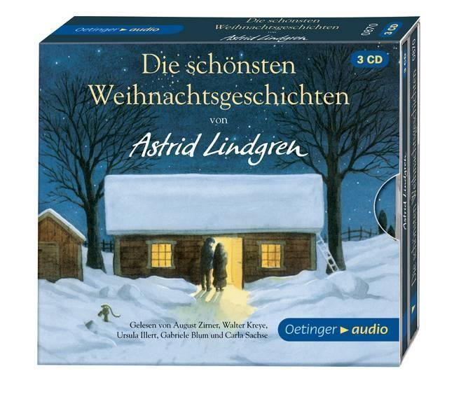 + Lindgren Astrid : Die schönsten Weihnachtsgeschichten 3er CD HörBuch NEU