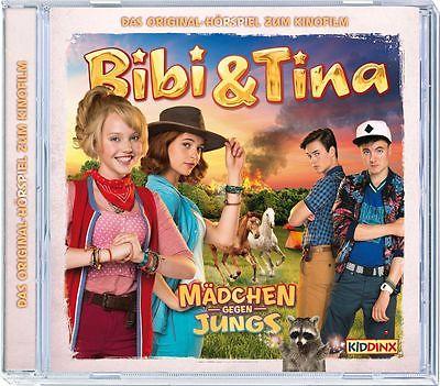Bibi und Tina - Hörspiel zum Kinofilm 3 - Mädchen gegen Jungs * CD * NEU * OVP