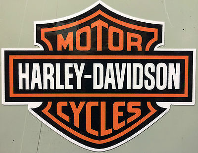 Harley-Davidson Aufkleber Bar&Shield Logo klein ca. 75x58 mm mehrfarbig