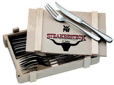 Steakbesteck-Set 12-teilig in Holzkiste 1280239990 | WMF NEU & OVP