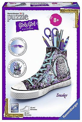 Ravensburger 3D-Puzzle Girly Girl Edition Sneaker Animal Trend Kinder Spielzeug
