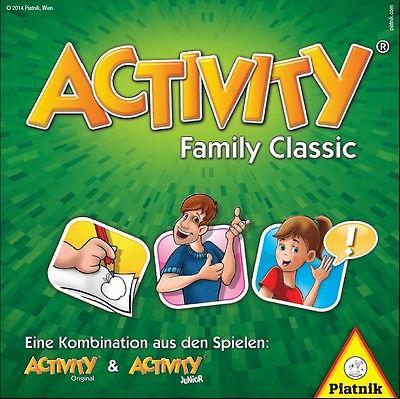 NEU/OVP Activity Family Classic Gesellschaftsspiel Familienspiel Piatnik 6050
