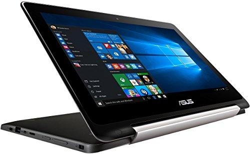 Asus Flipbook TP200SA 29,5 cm (11,6 Zoll) Convertible Tablet-PC (Intel Pentium N3700, 2GB RAM, 32GB eMMc, Intel HD Graphics, Win 10 Home) silber
