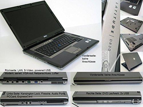 Dell Latitude D830, 15.4