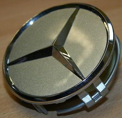 4 original Mercedes Benz Abdeckung Naben kappe Nabendeckel  Alufelge Stern