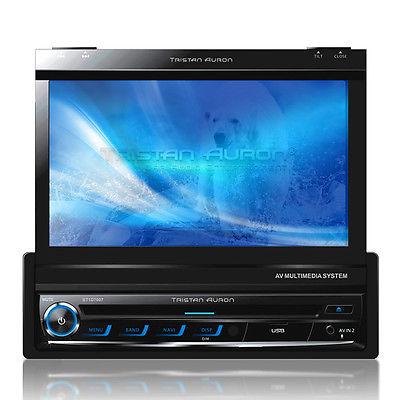7 AUTORADIO Bluetooth Touchscreen Bildschirm Navigation GPS DVD USB MP3 CD TMC