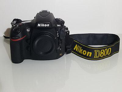 Nikon D800 36.3MP Digitalkamera (Nur Gehäuse) FX-Format - Erst 8687 Auslösungen