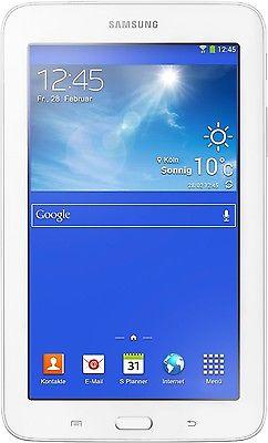 Samsung Galaxy Tab 3 Lite weiß T110N 8GB WIFI WLAN Android 7