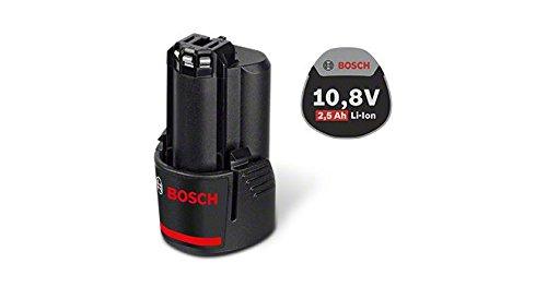 Bosch Professional GBA 10,8 V 2,5 Ah Akku, 1600A004ZL