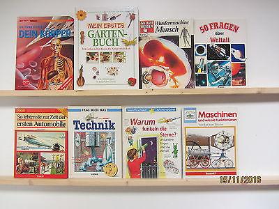 36 Bücher Kinderbücher Jugendbücher Jugendsachbücher großformatig Kindersachbuch