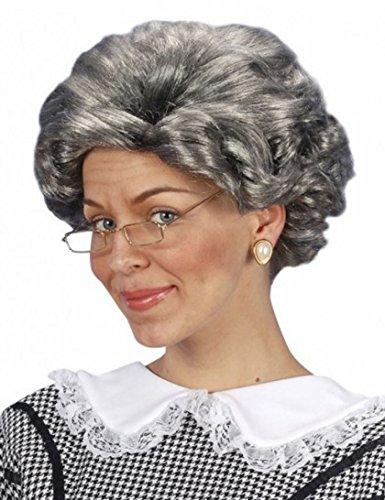 Perücke Großmutter Oma Damen