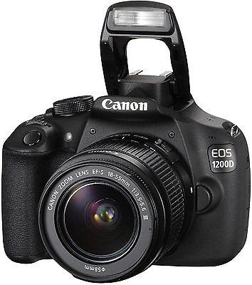 Neue Canon EOS 1200D mit 18-55mm Spiegelreflexkamera + Zubehörpaket 4
