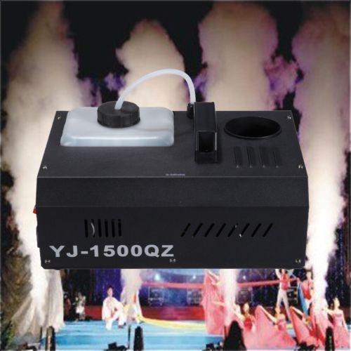 Smoke Machine Remote DMX Steuerung Vertikale Fogger UpSpray Dunst-Effekt 1500W