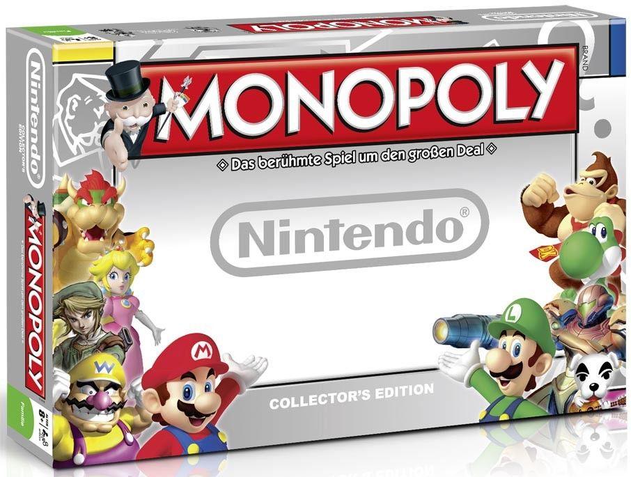 Monopoly Nintendo Gesellschaftsspiel Brettspiel Mario Luigi Link Zelda Kirby NEU