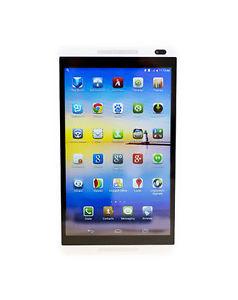 Huawei Mediapad M1 8.0 WiFi 8GB GPS HD silver-white weiss S8-301w NEU Händler
