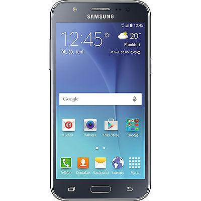 SAMSUNG Galaxy J5, Smartphone, 8 GB, 4.97 Zoll, Schwarz, LTE