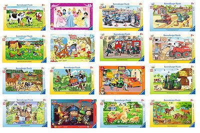 Ravensburger Puzzles 15 Teile Rahmenpuzzle Disney Kinder Polizei