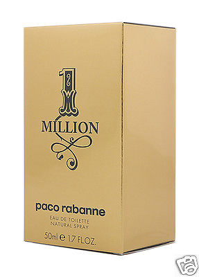 PACO RABANNE 1 ONE MILLION EDT 50ML EAU DE TOILETTE NEU & OVP