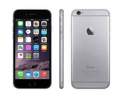 APPLE IPHONE 6 64GB SPACEGRAU SIMLOCKFREI OHNE VERTRAG - NEUWERTIG - SMARTPHONE
