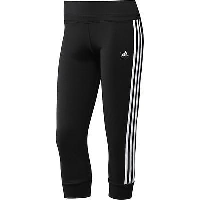 adidas Mf 3S Climacool 3/4 Tight Hose Capri Sporthose Trainingshose Jogginghose
