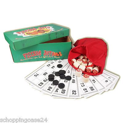 Bingospiel Lottospiel Klassischer Lotto Bingo Russische Lotto ??????? ???? gelb
