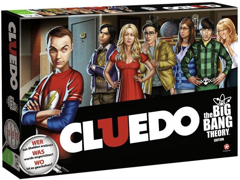 Cluedo The Big Bang Theory Brettspiel NEU & OVP