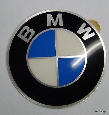 4x BMW Plakette Emblem für Felgen Felgenaufkleber 58mm
