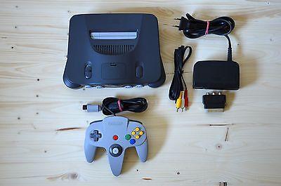 N64 - Nintendo 64 Konsole mit Original Controller (sehr guter Zustand)