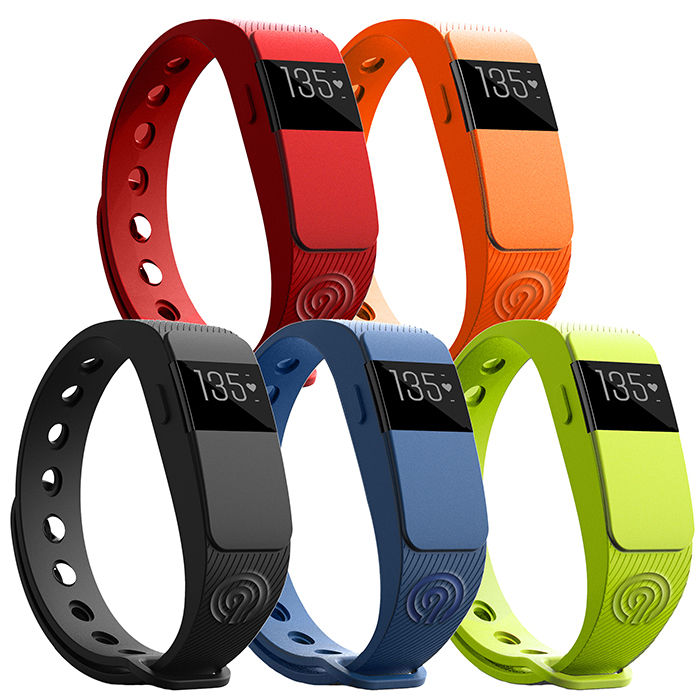 NINETEC Smartfit F2HR Fitnesstracker Actifity Band Fitness Armband Herzfrequenz