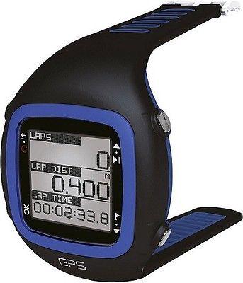 Millennium GPS Sport Uhr Sportuhr Laufuhr Puls Herzfrequenz Fitness Blau Schwarz