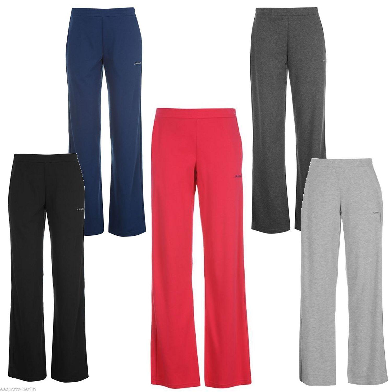 LA GEAR Jogginghose Damen Trainingshose Fitness Hose Sweathose Yoga Sporthose