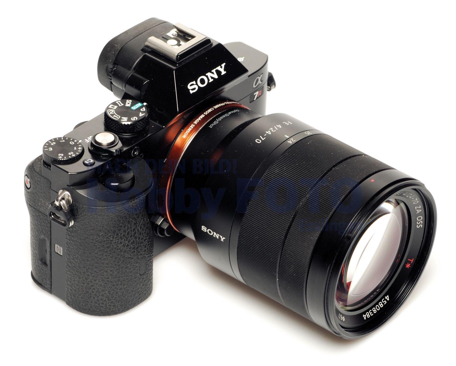 Sony Alpha 7R + 24-70/4 - gebraucht -