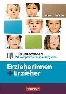 Erzieher: Prüfungswissen Erzieherin und Erzieher. Schülerbuch (Schulbuch) NEU