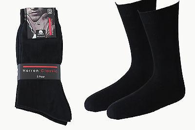30 Paar Herren Socken Bussines schwarz 100% Baumwolle ohne Naht / handgekettelt