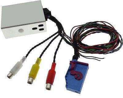 AUDI Multimedia Adapter RNS-E A2 A3 A4 A6 A8 TT Video TV Kabel Stecker Interface