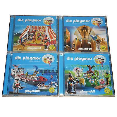XXL Hörspiel-Paket   die playmos Folge 9+10+11+12   playmobil Hörspiel 9-12 (CD)