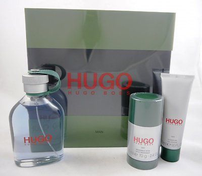 Hugo Boss Hugo Man Set 125ml Eau de Toilette EDT & 75ml Deostick & 50ml Duschgel