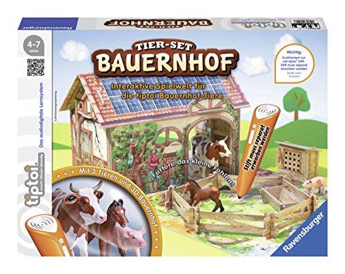 Ravensburger 00564 - tiptoi Tier-Set Bauernhof