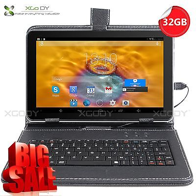 XGODY 9'' Zoll Tablet PC 32GB Quad Core Android 4.4 Dual Kamera WIFI Bluetooth