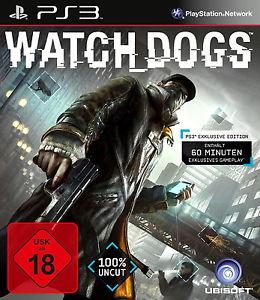 Sony Playstation 3 PS3 Spiel Watch Dogs USK 18