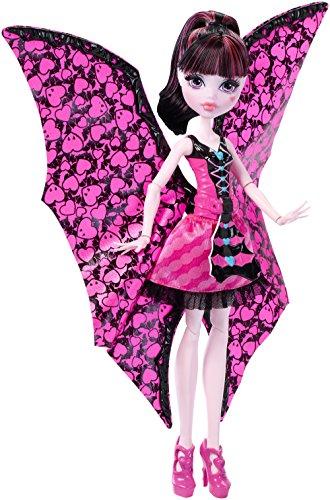 Mattel Monster High DNX65 - Fledermaus Draculaura, Ankleidepuppen