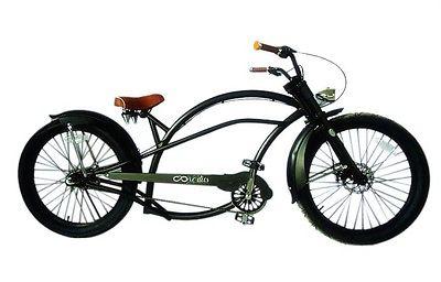 Chopper Fahrrad US-Style mit 3-Gang Shimano Nexus Nabenschaltung Beach Cruiser