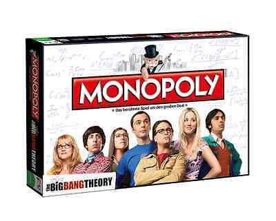 Monopoly The Big Bang Theory Brettspiel NEU & OVP