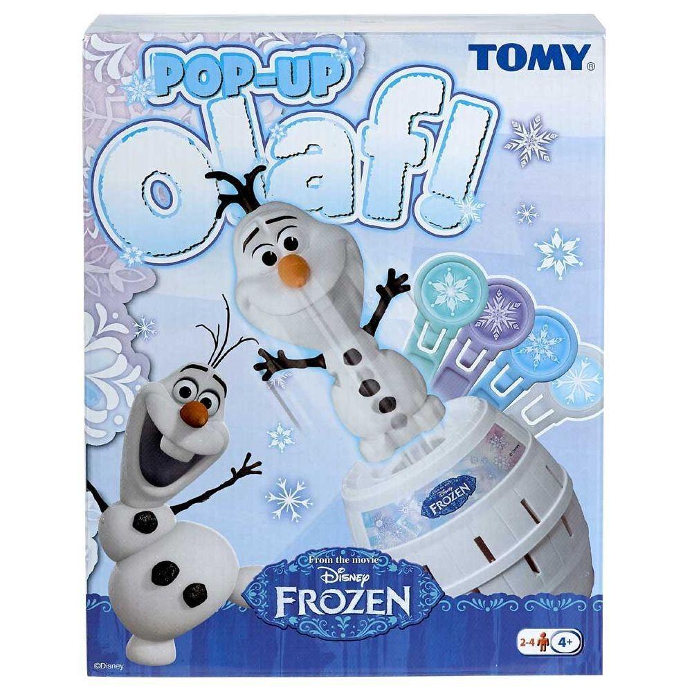 Disney Eiskönigin Frozen - Kinder Geschicklichkeitsspiel Pop Up Olaf
