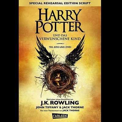 Harry Potter und das verwunschene Kind  Band 8 Buch Auslieferung am 24.09.16