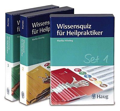 Wissensquiz für Heilpraktiker, Set 1-3 Marika Höwing