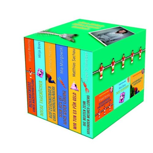 Comedy Edition-Box mit 6 Hörbüchern auf 24 CDs